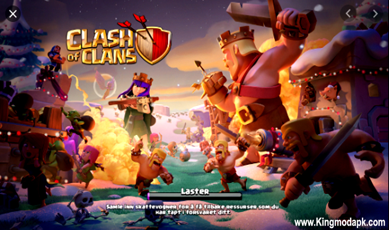 Clash of Clans Mod APK v13.0.25 Unlimited Troops + Gems For Android
