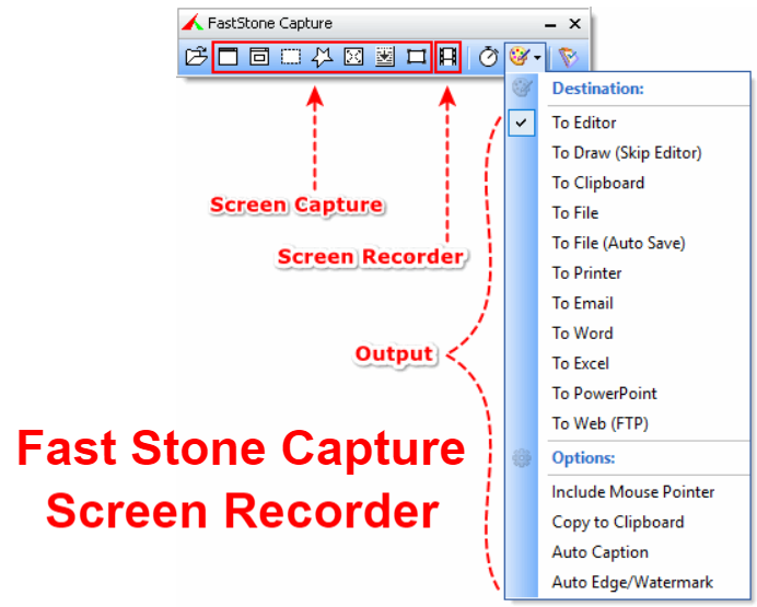 Fast Stone Capture screen recorder