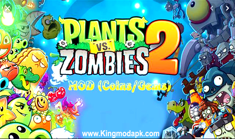 Plants Vs Zombies 2 Mod Apk V8 7 3 Coins Hack All Plants Unlocked