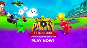 Stickman Party 1 2 3 4 Player Games Free Mod Apk