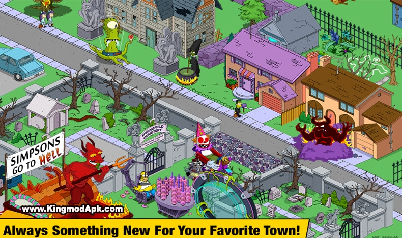 The Simpsons™️ Tapped Out Mod Apk